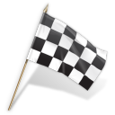 checkered flag icon 128